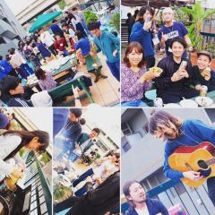 BBQ at Yokohama Hostel Village with T.I.E
