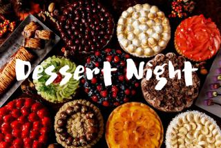 Hello everyone.  This month's event is all you can eat dessert buffet!!